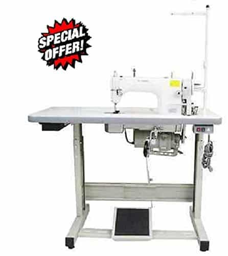 Yamata FY8700 Lockstitch Industrial Sewing Machine with Clutch Motor+Table.Assembly required.DIY