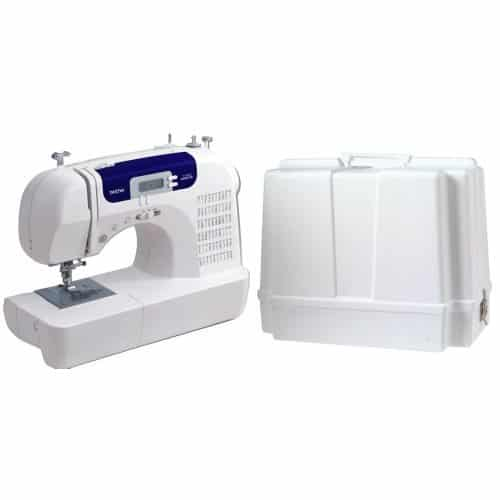 Brother CS6000i Feature-Rich Sewing Machine and Brother Sewing Machine Carrying Case