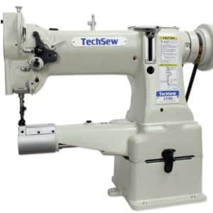TechSew 2700 Leather Walking Foot Industrial Sewing Machine with Assembled Table & Servo Motor