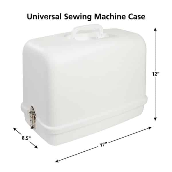 SINGER Universal Hard Carrying Case 40BR For Most FreeArm Impressive Sewing Machine Case