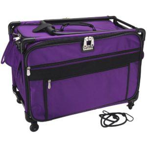 Mascot Metropolitan 9224PMA-1 X 9224PMA-1X Tutto Machine Case On Wheels, X-Large/24, Purple