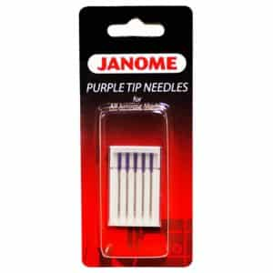 Janome Purple Tip Sewing Machine Needles