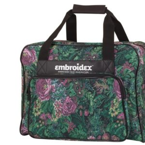 Floral Sewing Machine Carrying Case - Carry Tote/Bag Universal