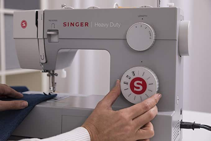 Singer Heavy Duty 40 Sewing Machine With 40 Builtin Stitches Gorgeous Singer 4411 Sewing Machine