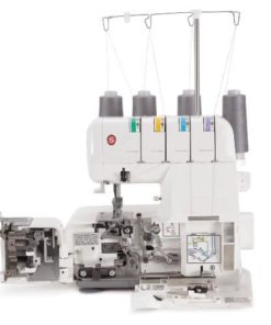 Singer Sewing Machine 14J250 Stylist II Serger Overlock Machine with 2-3-4 Thread Capability and Differential Feed