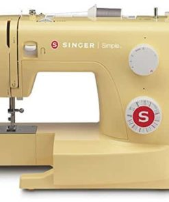 Singer Simple 3223Y Handy Sewing Machine, Honey
