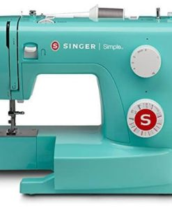 Singer Simple 3223G Handy Sewing Machine including 23 Built-In Stitches, Adjustable Tension, Easy Stitch Selection, Built-in Bobbin winding & Easy threading