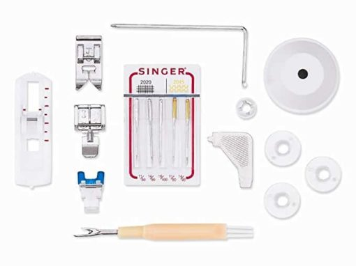 Singer Heavy Duty 4411 Sewing Machine with 11 Built-in Stitches, Metal Frame and Stainless Steel BedPlate, Great for Sewing all Fabrics