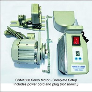 Genuine Consew Energy Saving Servo Motor for Industrial Sewing Machine