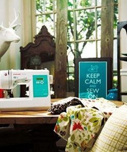 Singer 7258 100-Stitch Computerized Sewing Machine with 76 Decorative Stitches, Automatic Needle Threader and Bonus Accessories, Packed with Features and Easy to Use