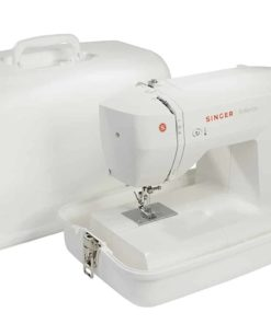 SINGER | Universal Hard Carrying Case 611.BR for Most Free-Arm Portable Sewing Machines