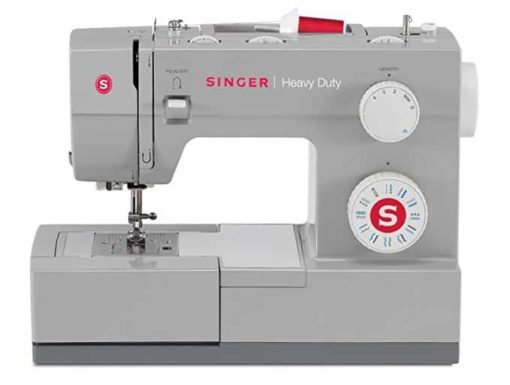 Singer Heavy Duty 4423 Sewing Machine with 23 Built-In Stitches -12 Decorative Stitches, 60% Stronger Motor & Automatic Needle Threader, Perfect for Sewing all Types of Fabrics with Ease