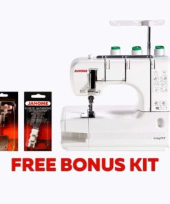 Janome CoverPro 900CPX Coverstitch Machine With Bonus Accessories