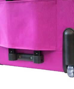 Eversewn Sewing Machine Navy/Pink Rolling Tote