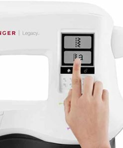 Singer Legacy C440 Portable Computerized Sewing Machine including 200 Built-in Stitches, 3 LED Lights, Automatic Needle Threader, Large LCD Touch Screen