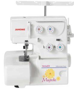 Janome 7034D Magnolia 3&4 Thread Overlock Serger