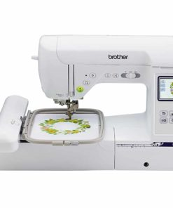 "Brother SE1900, Combination Sewing and Embroidery Machine with 5""x7"" Embroidery Field and Large Color Touch LCD screen"