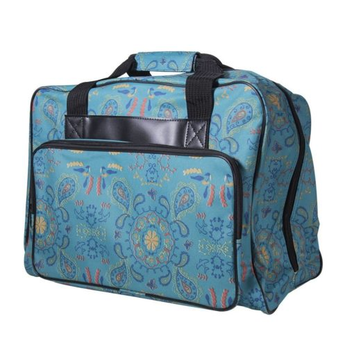 Janome Paisley Universal Sewing Machine Tote Bag, Canvas