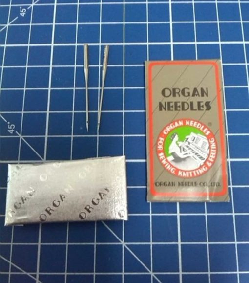 50 Pieces HOME SEWING MACHINE NEEDLES ASSORTMENT (ORGAN 15X1 SIZE#9,11,14, 16, 18) 10pcs per size