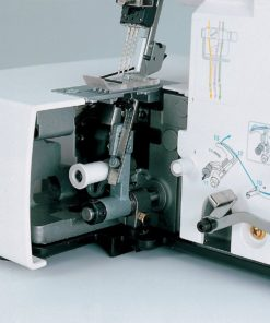 Brother Serger, 2340CV, Cover Stitch, Advanced Serger, Color-Coded Threading Guide, Dial Adjustment for Stitch Length, Presser Foot Pressure Adjustment