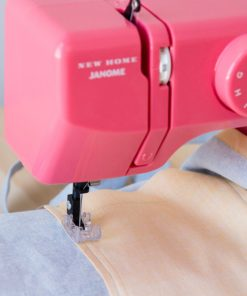 Compact 10-Stitch Sewing Machine Portable Free Arm Pink Easy Reverse StitchesNEW