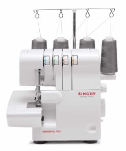Singer Finishing Touch 14SH6540 Differential-Feed Serger Sewing Machine including 4-3 Stitch Configuration, Color-Coded Lay-in Threading System