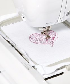"""Brother PE800 5""""x7"""" Embroidery-only machine with color touch LCD display, USB port, 11 lettering fonts, and 138 built-in designs"""