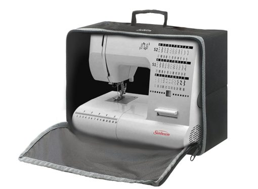 Sewing Machine Cover and Carrying Case, Dust Cover, Foldable and Compact, Fits all standard Sewing Machines Brother Singer