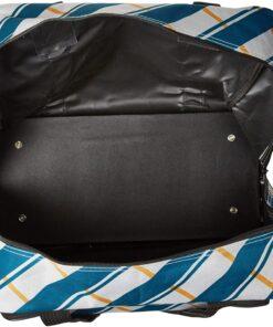 Janome Blue Plaid Universal Sewing Machine Tote Bag, Canvas - 4