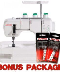 Janome CoverPro 900CPX Coverstitch Machine with Exclusive Bonus Bundle - 1