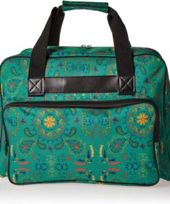 Janome Paisley Universal Sewing Machine Tote Bag, Canvas - 1