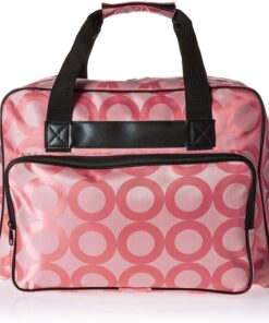 Janome Pink Universal Sewing Machine Tote, Canvas - 1