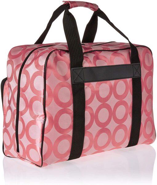 Janome Pink Universal Sewing Machine Tote, Canvas - 2