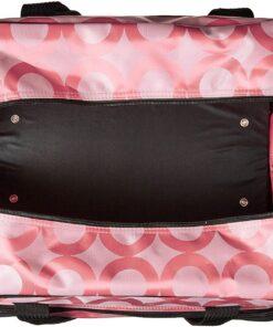 Janome Pink Universal Sewing Machine Tote, Canvas - 4