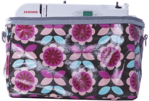 Janome Small Sewing Machine Tote Bag, Floral - 2