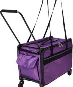 Mascot Metropolitan Tutto Machine Case On Wheels Extra Large 24in Purple, X-Large-24 - 2