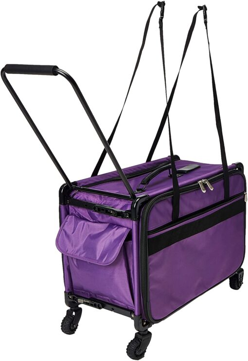 Mascot Metropolitan Tutto Machine Case On Wheels Extra Large 24in Purple, X-Large-24 - 2