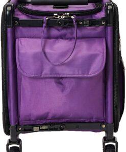 Mascot Metropolitan Tutto Machine Case On Wheels Extra Large 24in Purple, X-Large-24 - 3