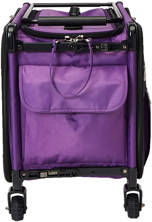 Mascot Metropolitan Tutto Machine Case On Wheels Extra Large 24in Purple, X-Large-24 - 3