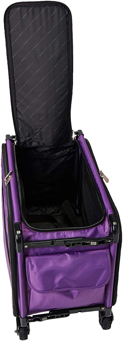 Mascot Metropolitan Tutto Machine Case On Wheels Extra Large 24in Purple, X-Large-24 - 4