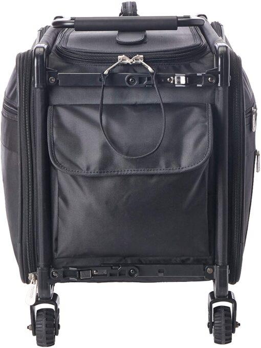 TUTTO Machine On Wheels Case, 23X14.25X14 Black - 3