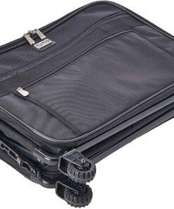 TUTTO Machine On Wheels Case, 23X14.25X14 Black - 4