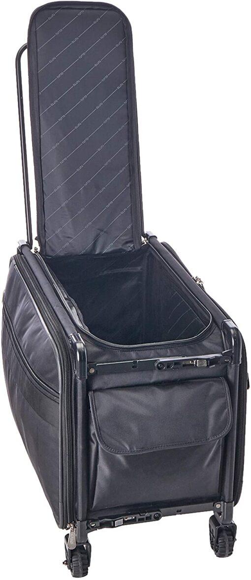 TUTTO Machine On Wheels Case, 23X14.25X14 Black - 5