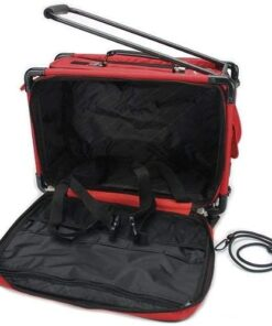 Tutto Machine on Wheels - Red Medium 19 L x 13 H x 10 D - 3