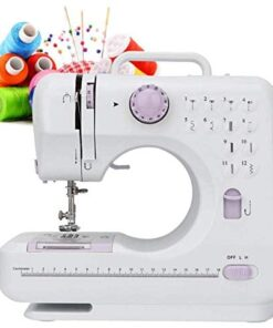 Biunixin Electric Sewing Machine, Household Hand-held Tailor Electric Sewing Machine with 12 Floral Stitches(US) - 1